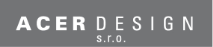 Logo společnosti ACER DESIGN s.r.o.